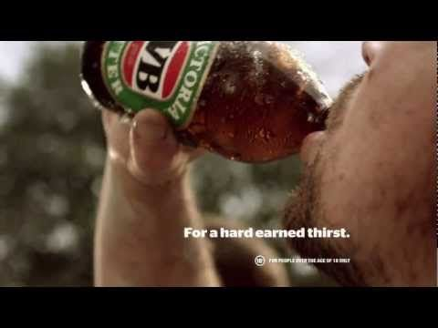 Victoria Bitter Ad - For A Hard Earned Thirst: Hands - YouTube