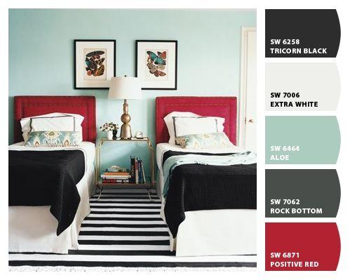 62 best Gray black red bedroom ideas images on Pinterest Bedroom