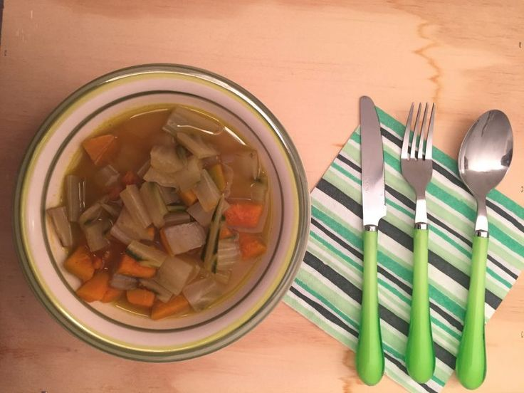 #zuppa di #zucca e #coste