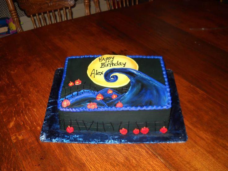 Nightmare Before Christmas Birthday Cake Ideas 6004 Birthd