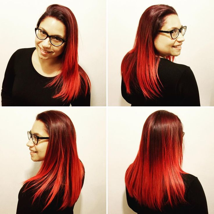 Balayage caoba-rojo y corte a @siliconvalle por @evatangol  #tangolstudio #alevalle #alejandravalle #intrusos #rojo #caoba #red #balayage #haircut #hairstyle #estilista #salonboutique #haircolor #hairstylist #peluqueria #chile #providencia #evatangol
