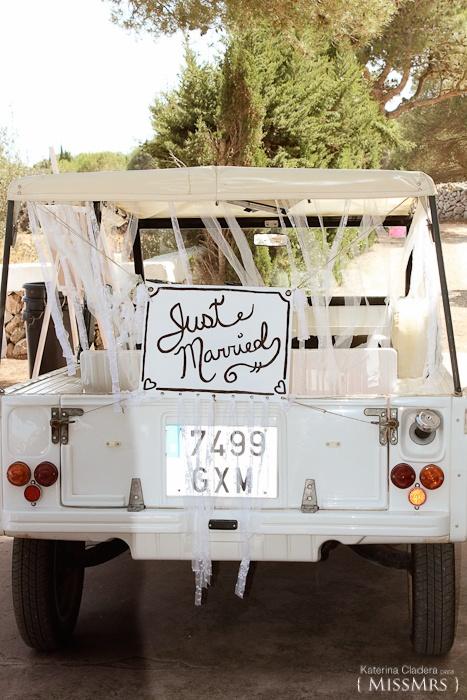 { Mr & Mrs } mucho más que una boda  Mehari #boda   Just married