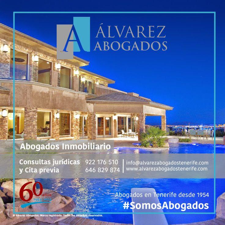 Abogados especialistas en Derecho Inmobiliario. http://alvarezabogadostenerife.com/?p=11776 #SomosAbogados