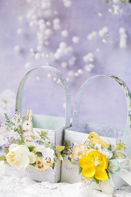 Spring parade treat baskets by Vera Shelemekh