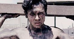 """Remember his name was Louis Zamperini : """" """" You train, you fight harder than those other guys and you win. If you can take it, you can make it. """" Unbroken (2014)"""