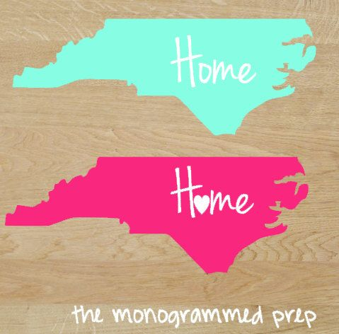 North Carolina  TheMonogrammedPrep