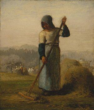 Jean-François Millet: Woman with a Rake (38.75) | Heilbrunn Timeline of Art History | The Metropolitan Museum of Art