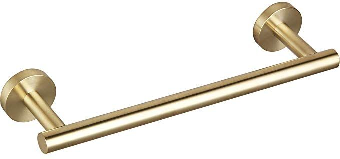 9 Inch Small Kitchen Towel Bar Brushed