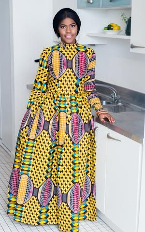 Mouna African Maxi Dress-HouseOfSarah14