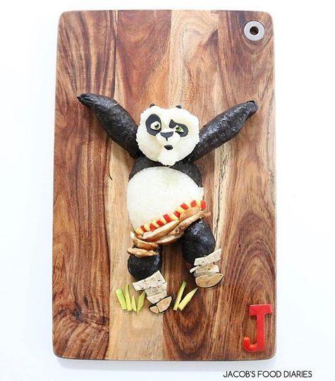 Kung Fu panda sushi made in Japan