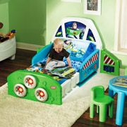Disney Toy Story Buzz Lightyear Spaceship Toddler Bed  $205.98