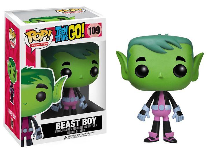 Funko POP! TV: Teen Titans Go! - Beast Boy