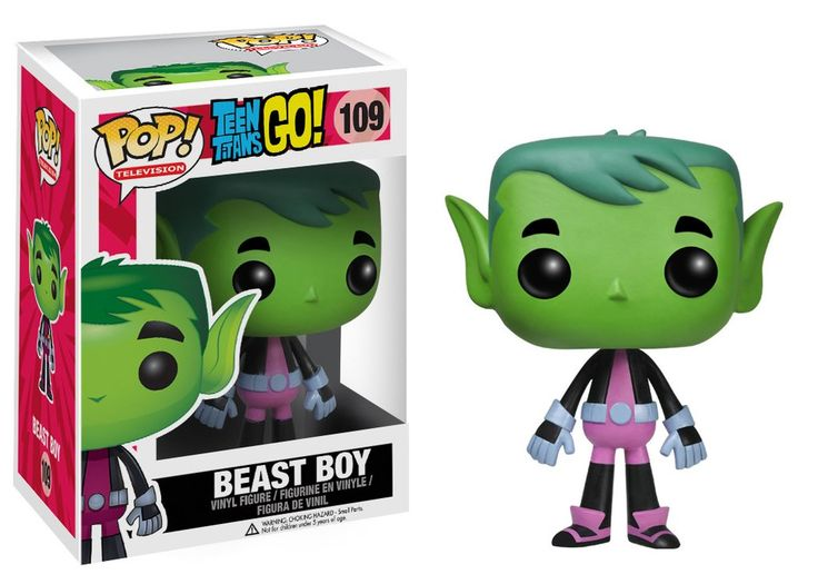 Funko POP! TV: Teen Titans Go! - Beast Boy