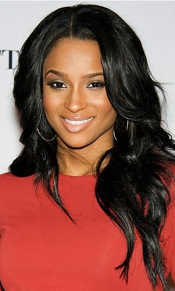 Ciara harris layered hairtsyle black is the hottest new shade for fall '13