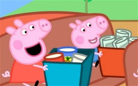 Peppa Pig is a children's British animation television series starring a young girl pig named Peppa.