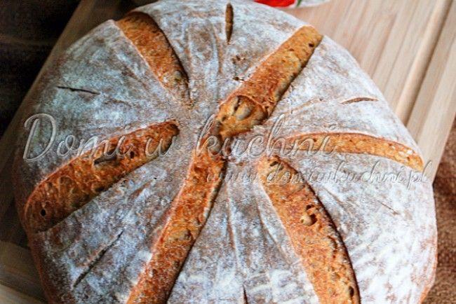 Chleb pszenny na żytnim zakwasie | Domi w kuchni