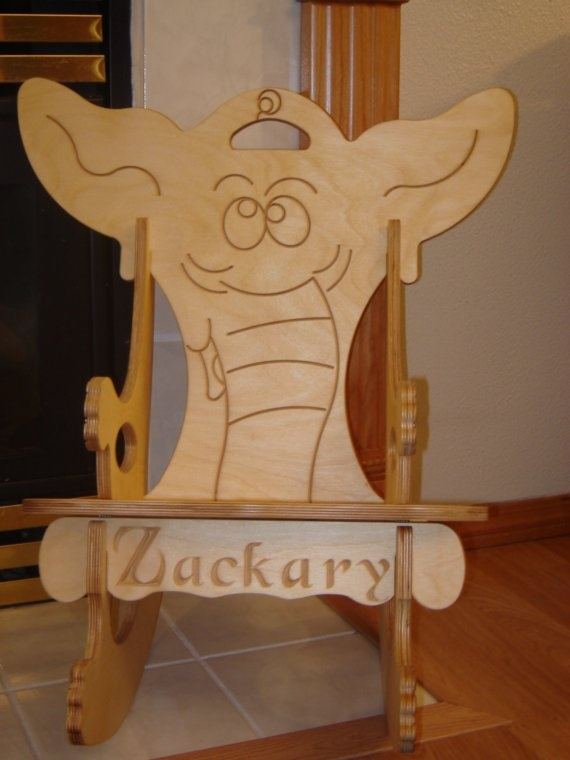 17 best images about elephant furniture on pinterest for Kids chair with name