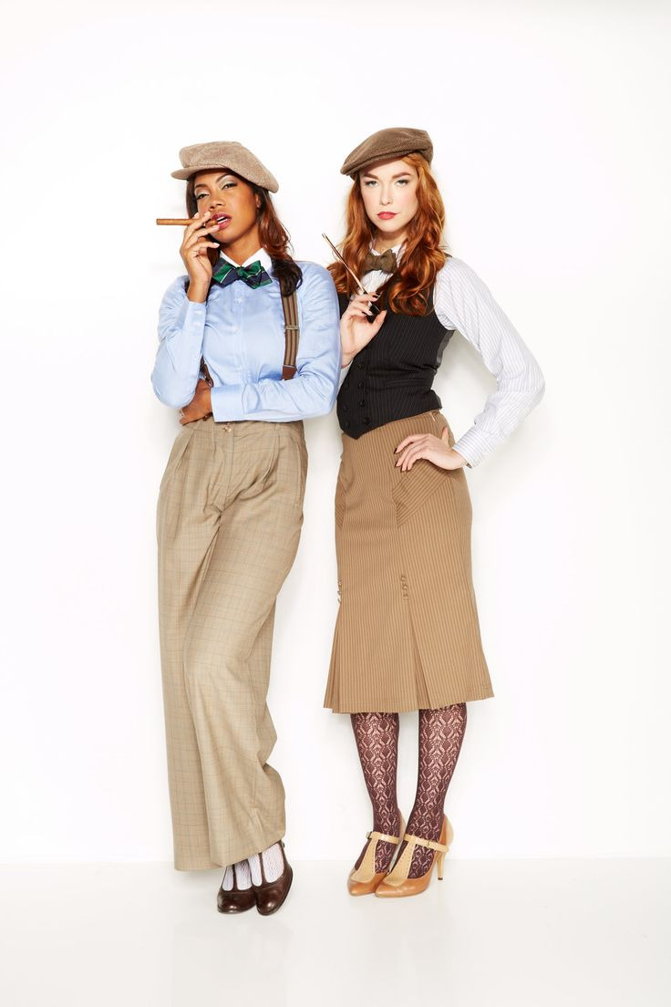 Women's Look From Prohibition Clothing.
