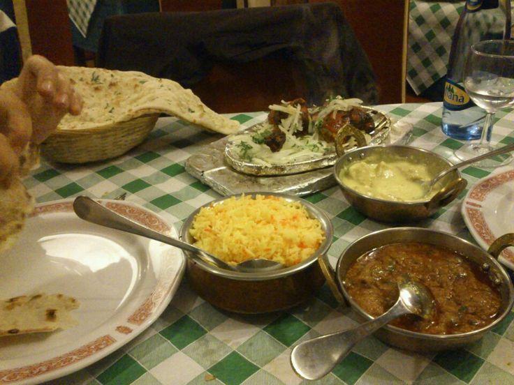 Muy buena comida india a buen precio