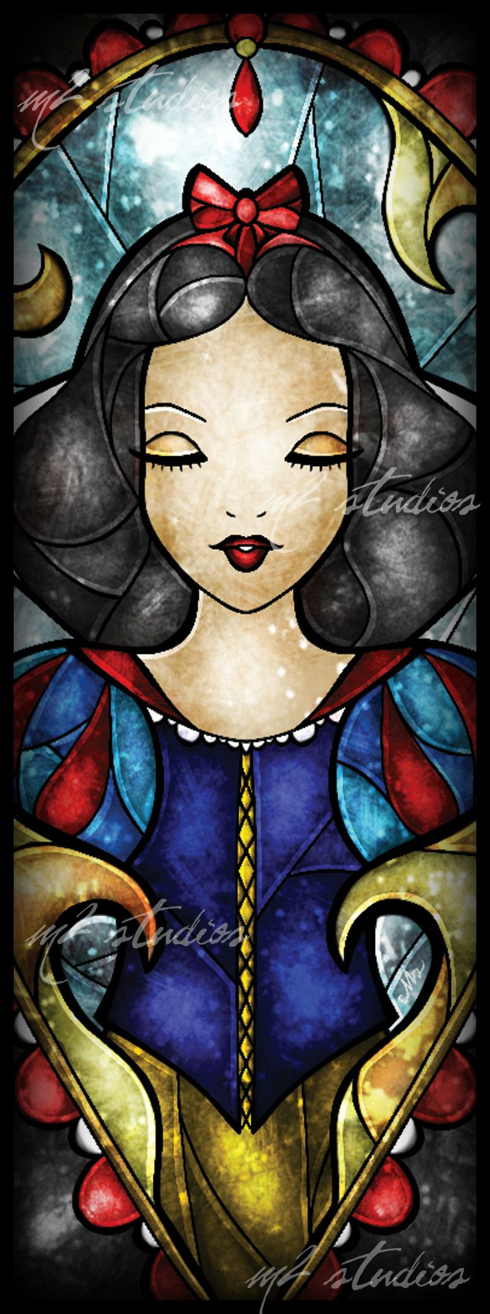 Stained Glass Snow White