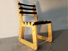 B+B=C è una serie di arredi che nasce dalla volontà di recuperare materiali di scarto come le cinture di sicurezza (Belt) e il legno degli imballi industriali (Box). #madeinitaly #artigianato #design