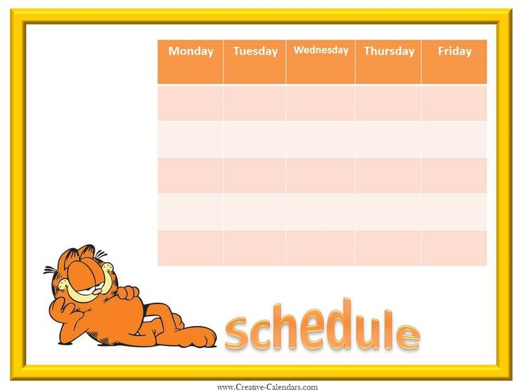 Best 25+ Weekly calendar template ideas on Pinterest Print a - one week calendar template word