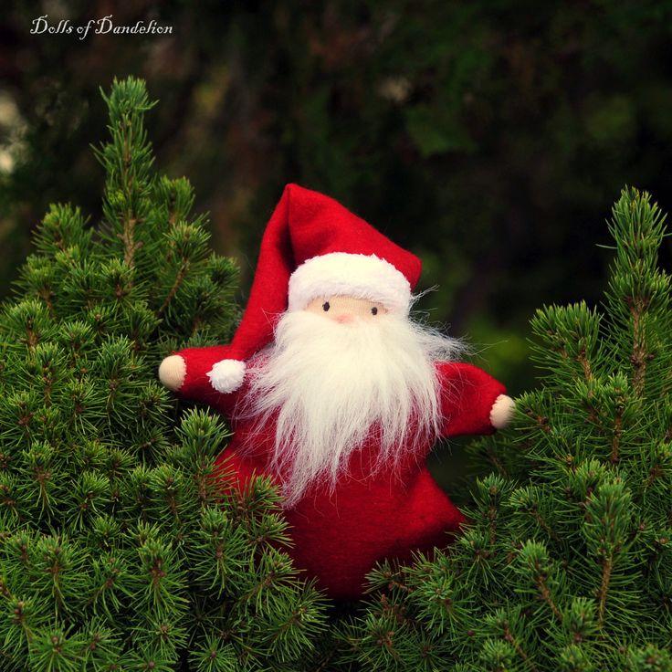 Waldorf doll, Christmas blanket doll, handmade12 inch soft doll by dollsofdandelion on Etsy https://www.etsy.com/listing/257050384/waldorf-doll-christmas-blanket-doll