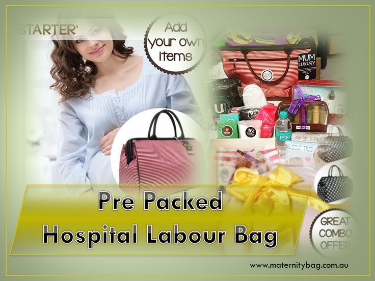 Pre Packed Hospital Labour Bag, also add your own items in this bag !  #Hospital #Labour #Bag