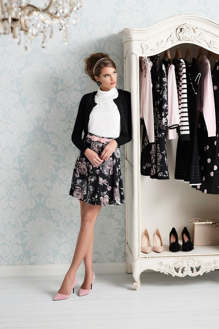Kara Top | Florenta Skirt  | Ooh La La Cardi  | Maddie Bow Belt
