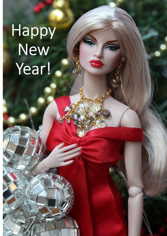 Happy new year!!!! | BARBIE - NAVIDAD Y AÑO NUEVO | Barbie ...