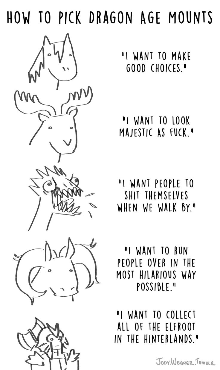 How to Pick Dragon Age Mounts