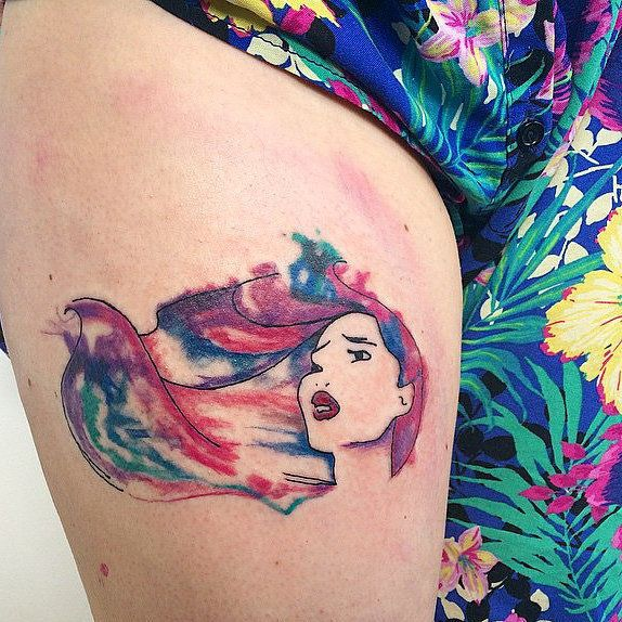 What Disney movie would YOU consider getting tattooed on you?