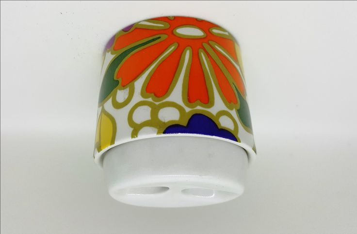 Absolutely Fabulous Pozzi Ceramica Sugar Bowl / 1970s Retro Ceramic Mustard…