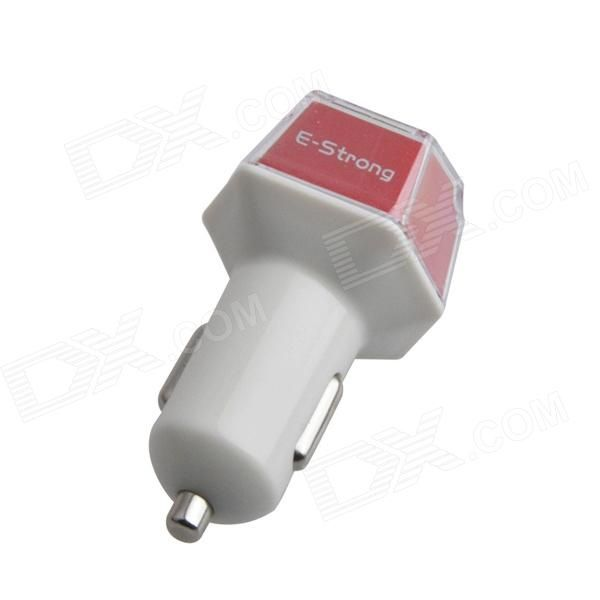 Color: White + Red; Model: AYA-130; Quantity: 1 Piece; Material: Plastic; Compatible Models: IPHONE 5S; Plug Specifications: Car Cigarette Lighter Plug; Input: 110~240V; Output: 2.1A - (up) 1.0A - (down); Cable Length: 82 cm; Packing List: 1 x Car charger1 x USB cable (82cm); http://j.mp/1lkucEf