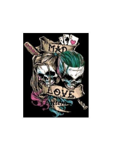 Details about Joker and Harley Quinn. Mad Love. Cross Stitch Pattern or Kit