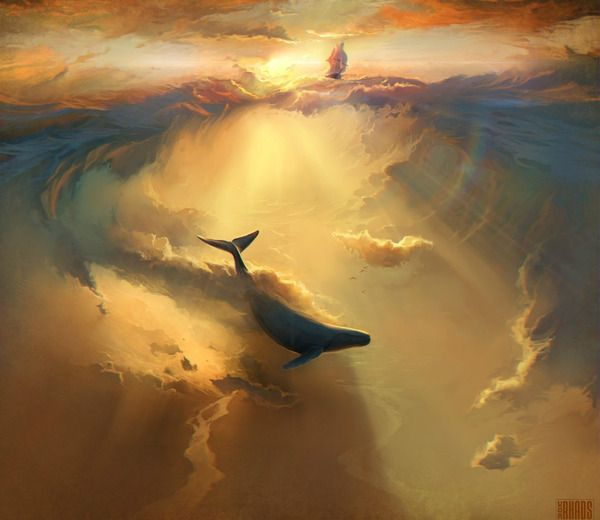 Infinite dreams- looks like whales from Fantasia movie