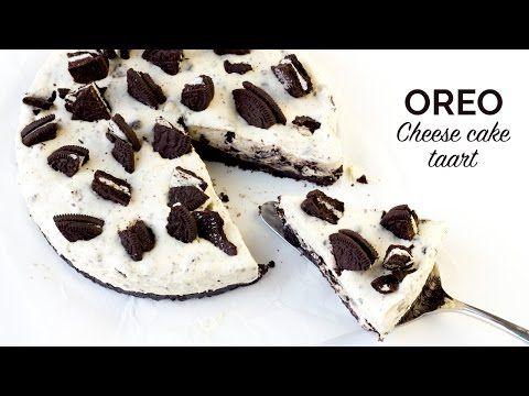 Video: Oreo cheesecake taart! (no bake) - De Genietende Foodie