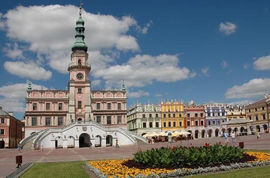 Zamosc, Poland: Market Square