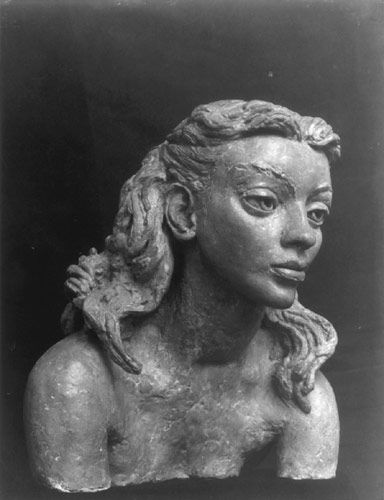 Deirdre, by Jacob Epstein. Deirdre was the Epstein family's cook and housekeeper from 1939 to 1942.