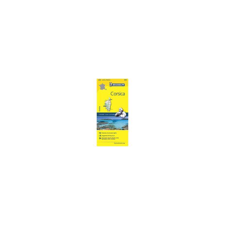 Michelin France Corsica (Paperback) (Michelin Maps & Guides (Cor))