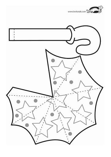 Moldes umbrella craft