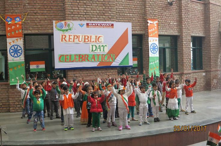 Students of Pearl to III celebrate the Eve of Republic Day with joy and vigor.