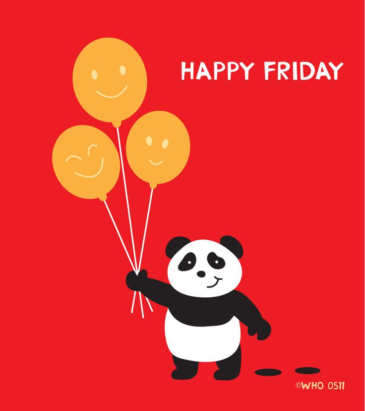 Everyone get a Panda moment at least one day at the week! Let's hope Friday is always the HAPPY Friday instead of Kung-Fu Friday!