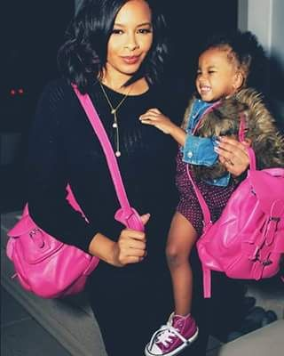Vanessa Simmons and her daughter Ava