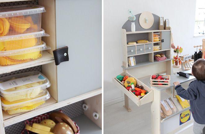 54 besten kaufladen diy bilder auf pinterest spielzeug kinderspielzeug und bastelarbeiten. Black Bedroom Furniture Sets. Home Design Ideas