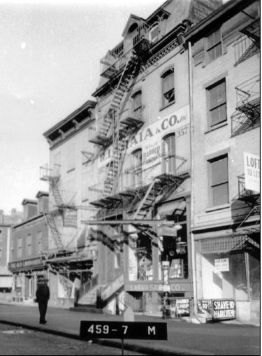 Germania Fire Insurance Company Bowery Building, 1939 Courtesy: NYC Dept. of Taxes