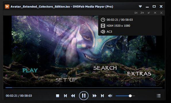 DVDFab Media Player gratis. Descarga la última versión de DVDFab Media Player gratis: Este reproductor de vídeo gratuito soporta todos los formatos de vídeo, incluídos el HE