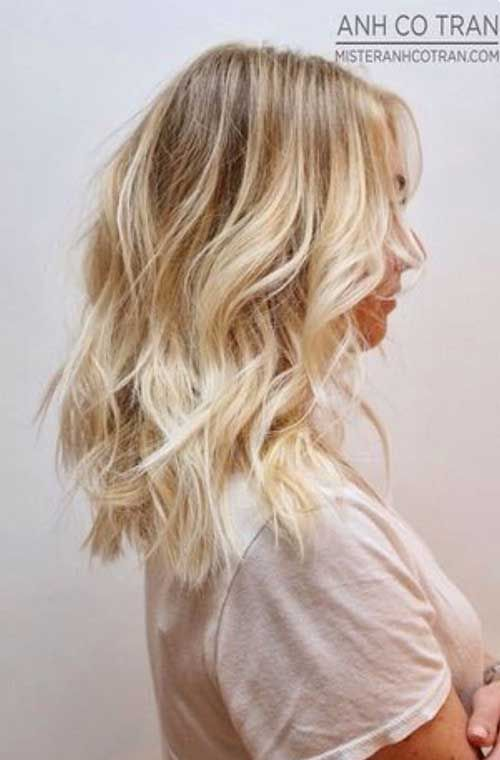 Trendy Mid Length Hair Cuts