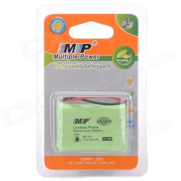 Model: MP-AAAx3 - Ni-MH battery with universal plugs - Please make sure the voltage of your cordless phone is strictly identical with this one before use http://j.mp/1lksRNH