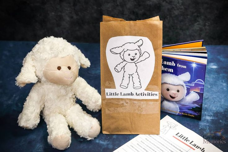 Unlike Elf on the Shelf, the Little Lamb of Bethlehem is meant to be played with and become part of your home.    That's right, your little ones can cuddle, love, and even sleep with this adorable Little Lamb. Little Lamb of Bethlehem - Christ Centered Elf on the shelf alternative. Printables available!